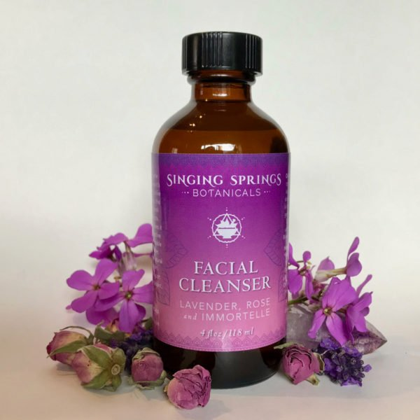 FACIAL CLEANSER- LAVENDER, ROSE & IMMORTELLE